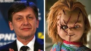 Crin şi Chucky, un cuplu de aur al marelui ecran